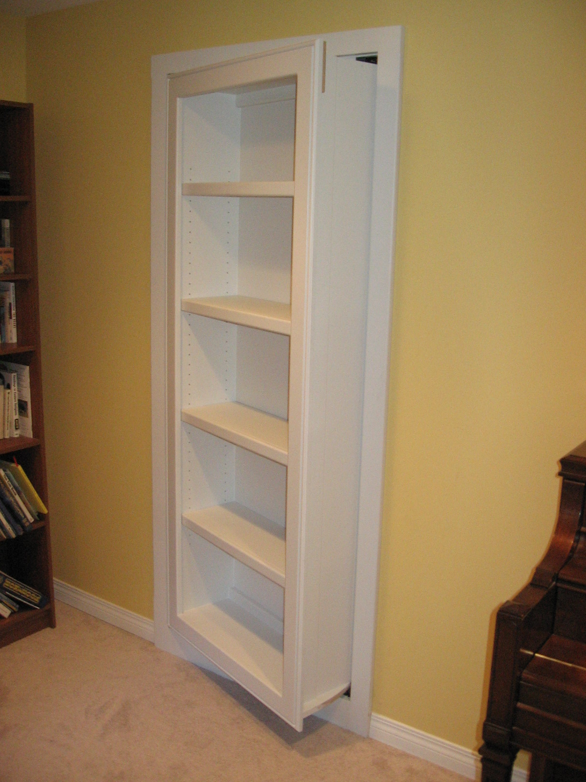 Standard Bookcase Partially Open
