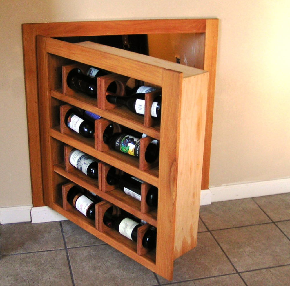 Small Wine Door Open